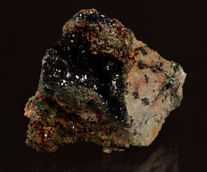 Libethenite from Mutanda Mine, Katanga, Dem.Rep.Congo