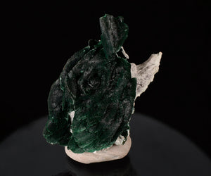 Malachite pseudo. Azurite from Milpillas Mine, Cuitaca, Sonora, Mexico