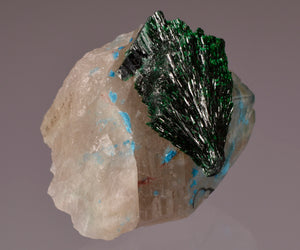 Malachite from , Kaokoveld, Namibia