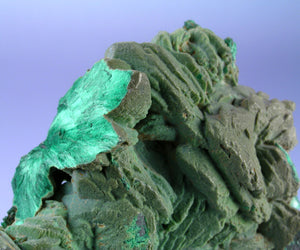 Malachite from Morenci Mine, Greenlee Co., Arizona, USA