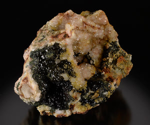 Olivenite from Wheal Gorland, St.Day, Cornwall, England