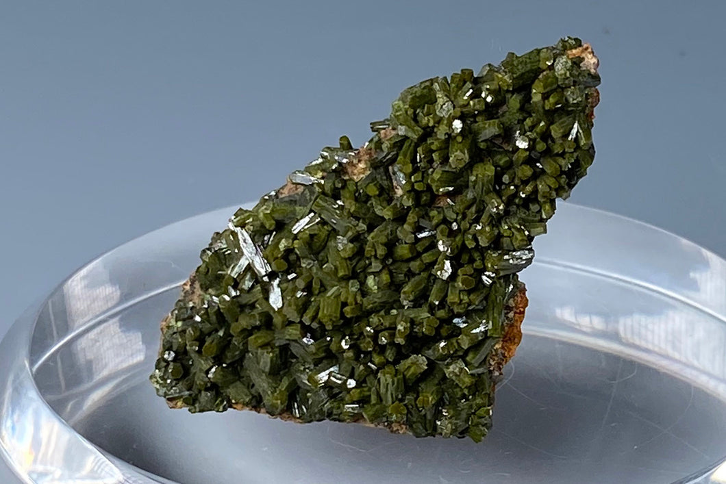 Pyromorphite from Wheatley Mine, Phoenixville, Chester Co., Pennsylvania, USA