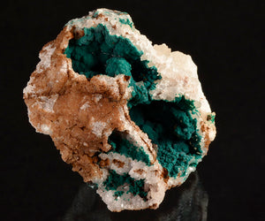 Pseudomalachite from Miguel Vacas Mine, Vila Vicosa, Evora, Portugal