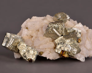 Pyrite from Eupel Mine, Niederhovels, Siegerland, Germany