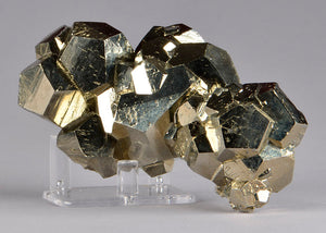 Pyrite from Huanzala Mine, Huanuco Dept. Peru