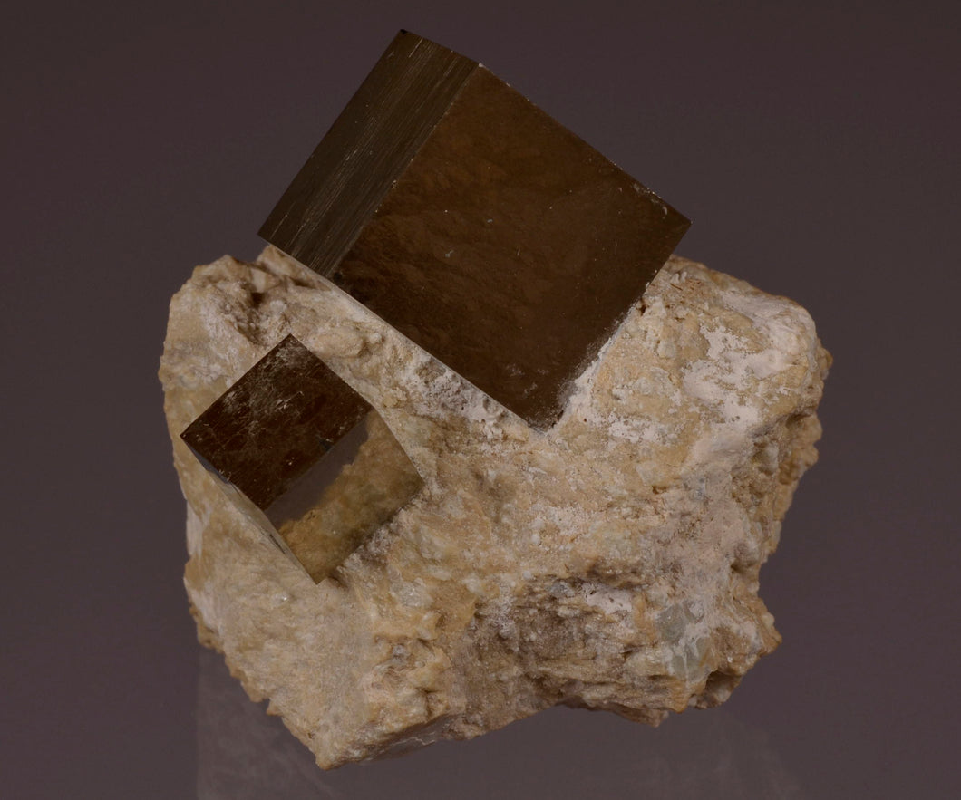 Pyrite from Navajun, La Rioja Province, Spain