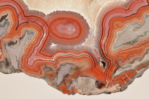 Quartz var. Agate from Dryhead Agate Location, Bighorn River Area, Carbon Co., Montana, USA