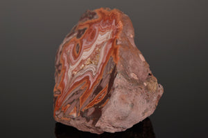 Quartz variety Agate from Dryhead-Agate-Location-Bighorn-River-Area-Carbon-Co-Montana-USA