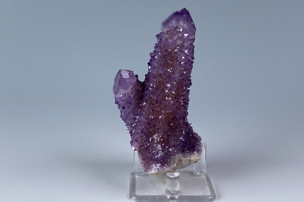 Quartz variety  Amethyst from Boekenhoutshoek, Mpumalanga, South Africa