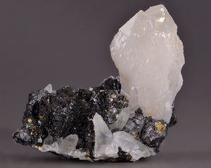 Quartz from Herja Mine, Baia Mare, Romania