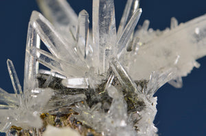 Quartz from Yaogangxian Mine, Hunan Province, China