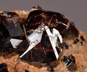 Rutile from Champion Mine, White Mountains , Mono Co., California, USA