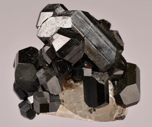 Tourmaline var. Schorl from Mimoso do Sul Mine, Espirito Santo, Brazil
