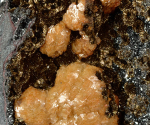 Siderite from Sterling Mine, Antwerp,New York, USA