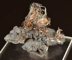 Silver from Imiter Mine, Ouarzazate Province, Morocco