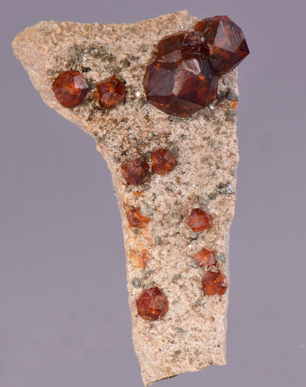 Garnet var. Spessartine from Tongbei, Fujian Province, China
