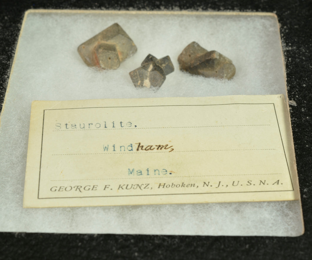 Staurolite from Windham, Cumberland Co., Maine, USA