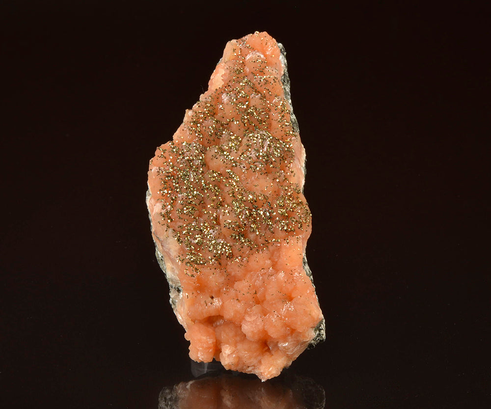Stilbite from Moore's Station Quarry, Hopewell Township, Mercer Co., New Jersey, USA