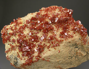 Vanadinite from Mibladen, Khénifra Province, Morocco