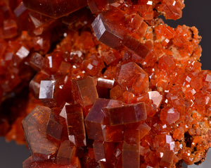 Vanadinite from Mibladen, Midelt, Morocco