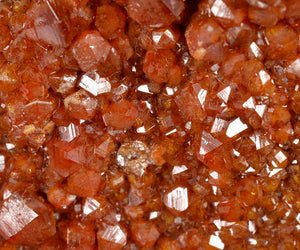 Vanadinite  from Holmes Claims, Santa Cruz Co., Arizona, USA