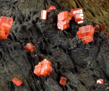 Load image into Gallery viewer, Vanadinite  from Taouz, Er Rachidia Province, Meknes-Tafilalet Region, Morocco