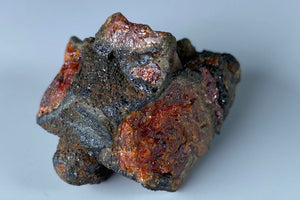 Vanadinite with Descloizite from Abenab Mine, Grootfontein, Namibia