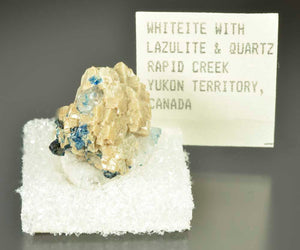 Whiteite from Rapid Creek, Yukon Territory, Canada