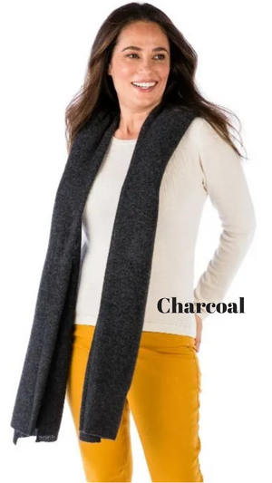 Lightweight 100% Cashmere Travel Wrap