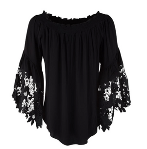 Jolie Flower Lace Top