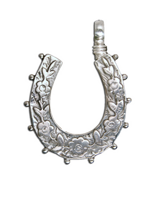 Flowering Horseshoe Pendant