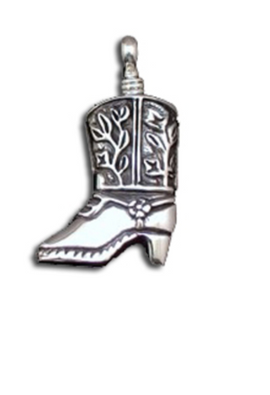 Mini Cowboy Boot Pendant
