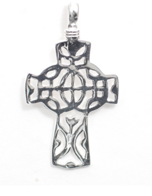 Worldly Cross Pendant