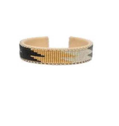 Coco Glass Cuff Small