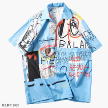 Load image into Gallery viewer, RLDN Streetwear Graphic Design Summer Shirt