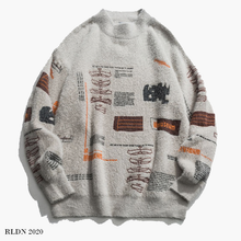 Load image into Gallery viewer, RLDN Streetwear Graffiti Style Knitted Pullover Jumper/Sweatshirt