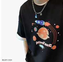 Load image into Gallery viewer, RLDN Graphic Retro Cartoon Style T-Shirt