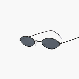 RLDN Retro Small Oval Sunglasses