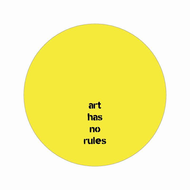 Art has no rules