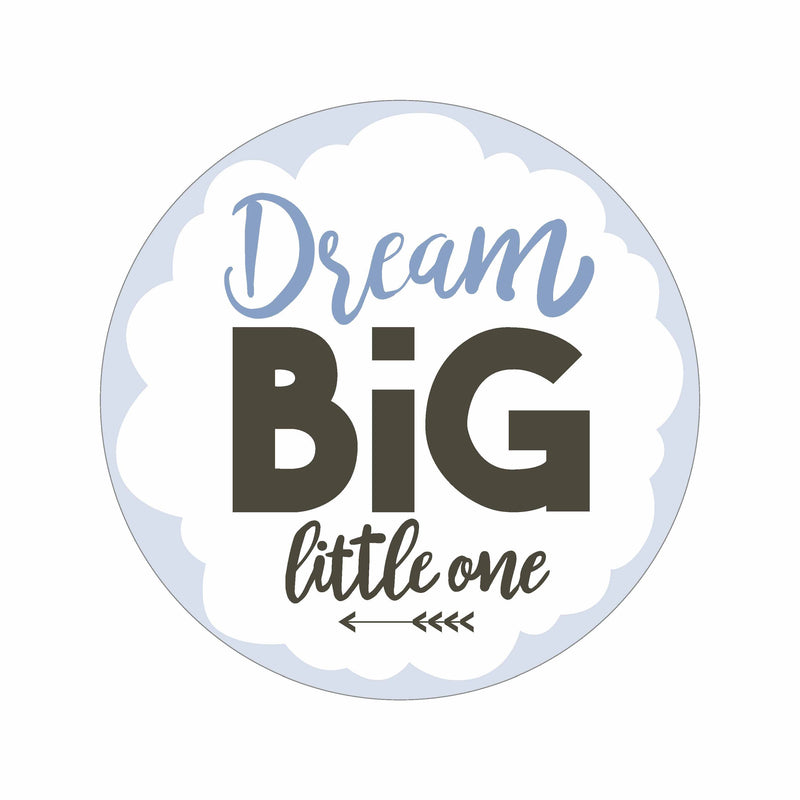 Dream Big - Blau