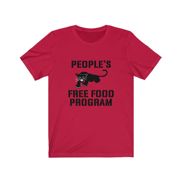 Unisex Free Food Program Jersey Short Sleeve Tee