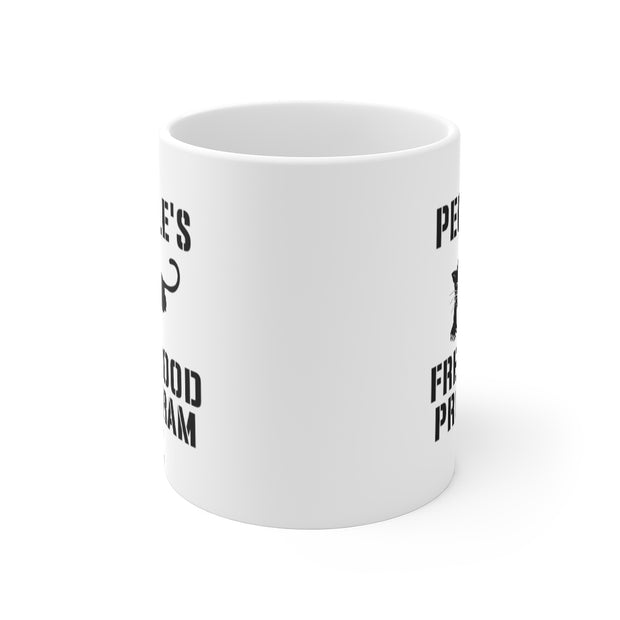 Free Food Program Ceramic Mug 11oz