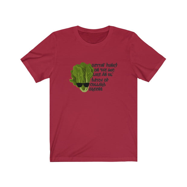 Funky Collards Unisex Jersey Short Sleeve Tee