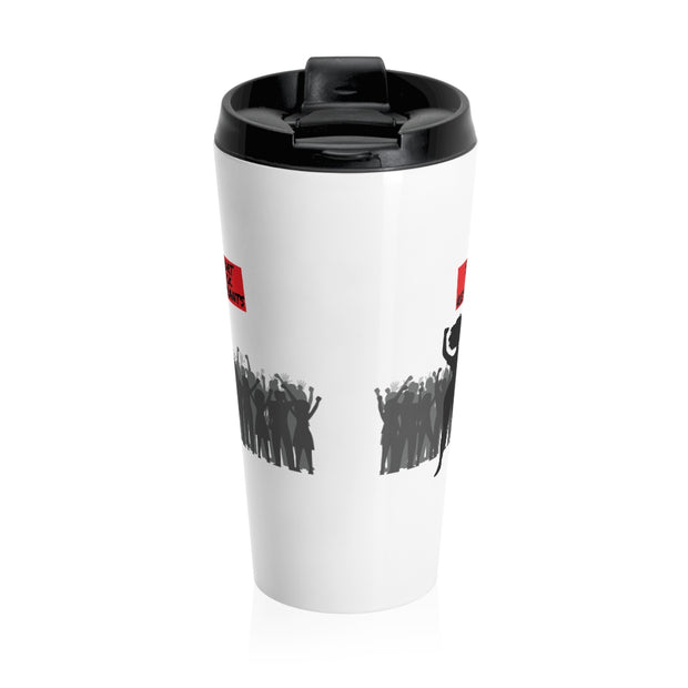 Support Black Restaurants Stainless Steel Travel Mug