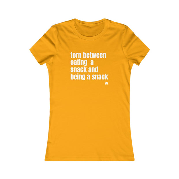 Women's Eating A Snack Tee