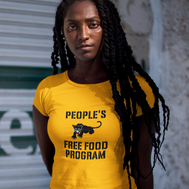 Women's  Free Food Program Tee