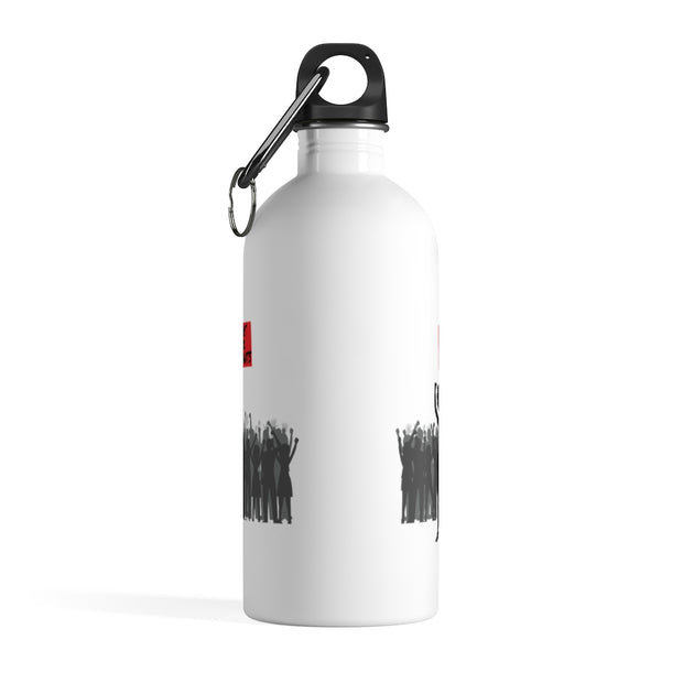 Support Black Restaurants Stainless Steel Water Bottle