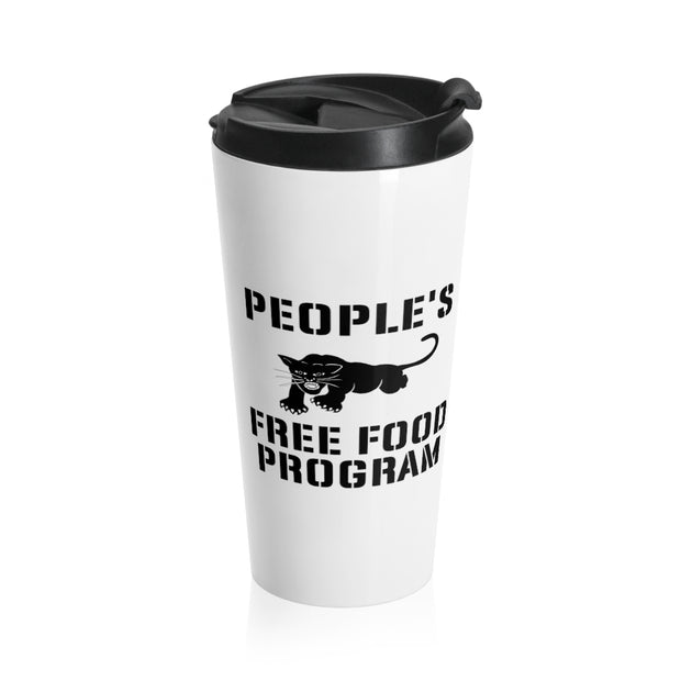 Free Food Program Stainless Steel Travel Mug