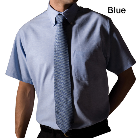 Men's Oxford Short Sleeve Shirt
