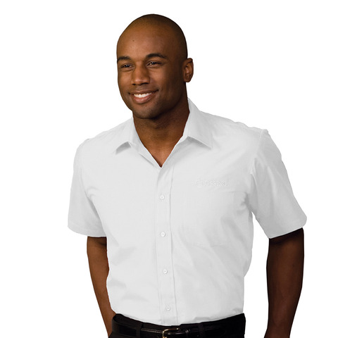 Men's Broadcloth Short Sleeve Shirt